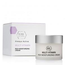 MULTI VITAMIN Rich Moisturizing Cream ( Увлажняющий крем с комплексом витаминов ) 50 мл